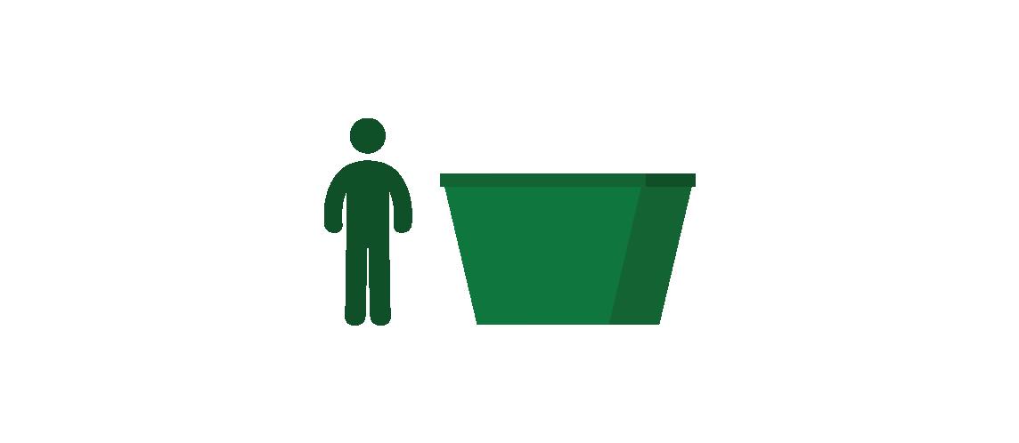 3 cubic metre skip bin in Adelaide